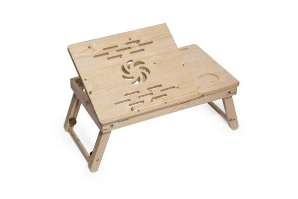 foldable wooden laptop table for bed